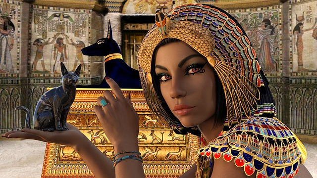 Cleopatra mujer liberada