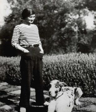 Coco Chanel en 1928
