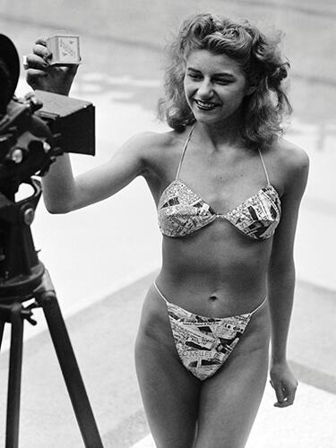 El primer bikini del mundo