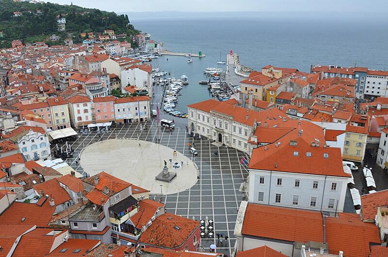 Descubre Pirán, ciudad costera de Eslovenia