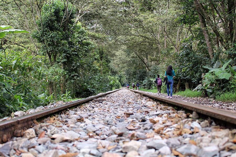 caminata a machu picchu desde hidroelectrica