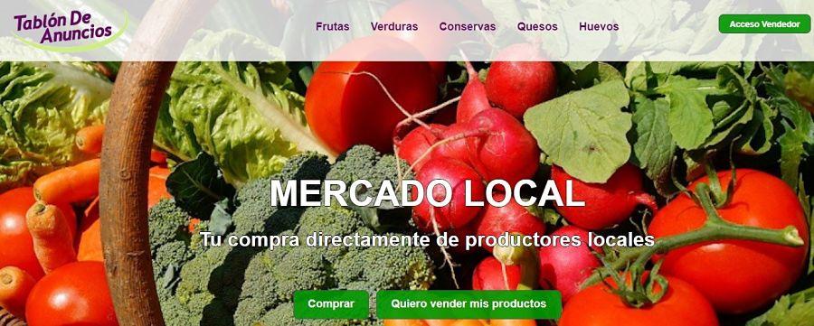 Mercado local, plataforma de tablón de anuncios