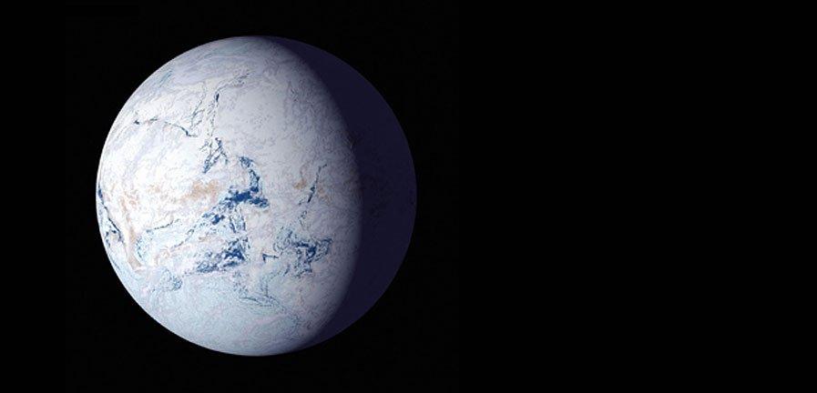 Tierra bola de nieve y superglaciaciones
