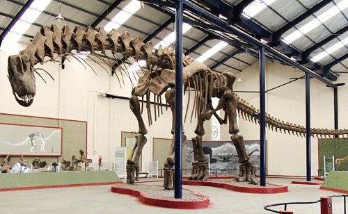 esqueleto Argentinosaurus