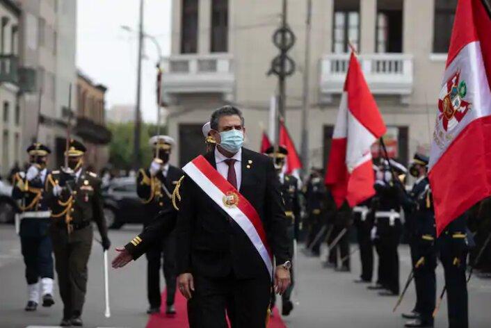 Peru golpe de Estado