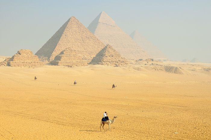la pirámides de egipto