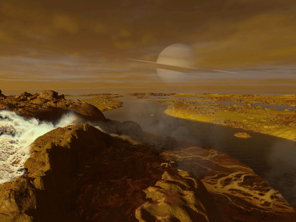 Titán, satélite de Saturno
